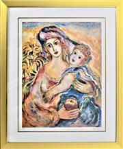 Sale 8778A - Lot 5001 - Zamy Steynovitz - Mothers Love 74 x 88cm (frame)