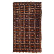 Sale 8870C - Lot 43 - Persian Antique Verneh Kilim Rug, Circa 1940, in Handspun Wool 246x140cm