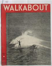 Sale 8431B - Lot 63 - Front cover, The Surfer, Walkabout January 1946