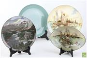 Sale 8494 - Lot 80 - Doulton Wall Platters, Plate And Dish