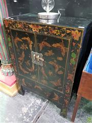 Sale 8570 - Lot 1003 - Oriental 2 Door Cabinet