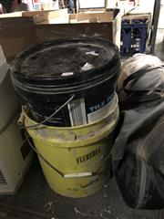Sale 8819 - Lot 2241 - 2 Buckets of Nails with 2 Tents