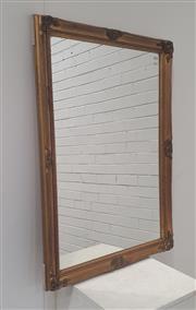 Sale 9071 - Lot 1076 - Gilt Framed Mirror (102 x 73cm)