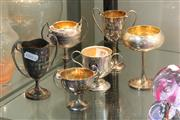 Sale 8360 - Lot 89 - Chinese Silver Trophies with Other Trophies