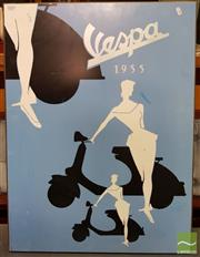 Sale 8465 - Lot 1033 - Vespa Poster