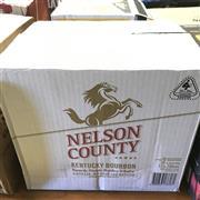 Sale 8801W - Lot 75 - 12x Nelson County Bourbon Whiskey, 700ml