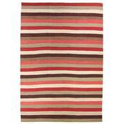 Sale 8870C - Lot 45 - Afghan Nomadic Stripes Rug in Handspun Wool 534x388cm