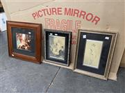 Sale 9082 - Lot 2089 - Group of (3) Norman Lindsay decorative prints