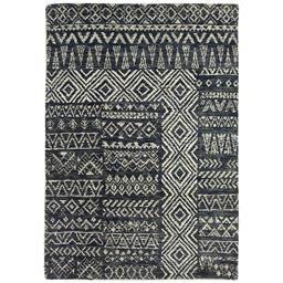 Sale 9090C - Lot 36 - Indian Tribal Design Rug, 160x230cm, Handspun Jute