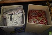 Sale 8509 - Lot 2346 - 2 Boxes of Cushions