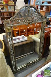 Sale 8515 - Lot 1055 - Ornate Metal Framed Mirror