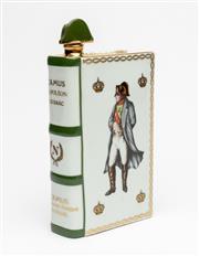 Sale 8575J - Lot 83 - A Haviland Limoges limited edition ceramic cognac bottle commemorating the bi-centenary of the birth of Napoleon Bonaparte, numbered...
