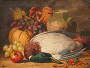 Sale 8675 - Lot 588 - Charles Thomas Bale (1849 - 1923) - Still Life 34.5 x 44.5cm