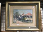 Sale 8752 - Lot 2061 - Artist Unknown - Wattle Flat NSW, oil on board