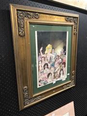 Sale 8784 - Lot 2078 - Humorous Watercolour