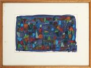 Sale 8878 - Lot 2008 - Andrew Ferguson (1959 - ) - High Flyers,1994 30 x 48.5cm