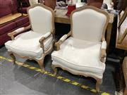Sale 8896 - Lot 1020 - Pair Of Louis XV Style Armchairs