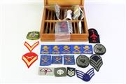 Sale 8952M - Lot 660 - Boxed Collection Of Patches Incl Australian RAAF