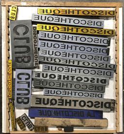 Sale 9117 - Lot 1082 - Tray of Printers Blocks