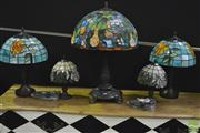 Sale 8361 - Lot 1005 - Collection Of Various Table Lamps (5)