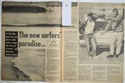 Sale 8431B - Lot 66 - Article, New Surfer's Paradise (Bells Beach). 2 page story in Australasian Post Magazine, May 7 1970