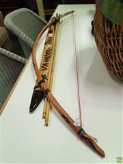 Sale 8637 - Lot 1062 - Bow & Arrows