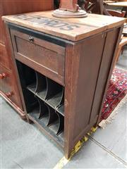 Sale 8717 - Lot 1054 - Vintage Record Cabinet