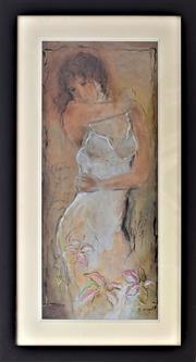 Sale 8778A - Lot 5005 - Batia Kovalev - Naivety 49 x 85cm (frame)