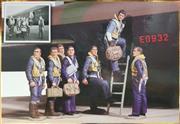 Sale 8817C - Lot 529 - WB Crew of Lancaster ED932 RAF 617 Squadron