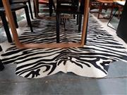 Sale 8930 - Lot 1092 - Large Faux Zebra Pelt