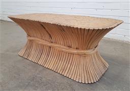 Sale 9151 - Lot 1066 - Whet Sheaf coffee table (h:42 x w:105 x d:54cm)