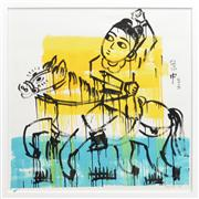 Sale 8286 - Lot 538 - Zhong Chen (1969 - ) - Untitled, 2011 102 x 102cm