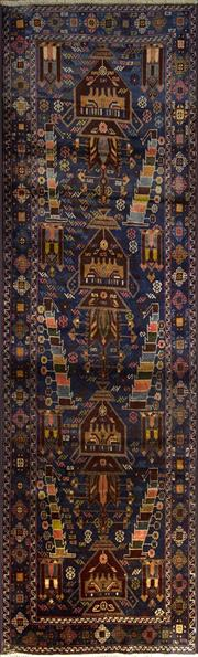 Sale 8338C - Lot 14 - Persian Baluchi 280cm x 85cm