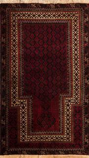 Sale 8380C - Lot 78 - Persian baluchi 140cm x 90cm