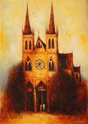 Sale 8642A - Lot 5020 - Eris Fleming (1943 - ) - The Cathedral 63.5 x 45cm
