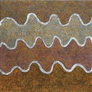 Sale 8733A - Lot 5004 - Dolly Mills Petyarre (1948 - ) - Untitled, 2003 (Bush Yam Dreaming) 90 x 90cm (stretched and ready to hang)