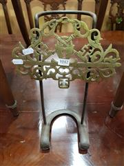 Sale 8769 - Lot 1042 - Brass Key Stand