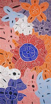 Sale 8895A - Lot 5019 - Glenys Gibson Nungurrayi (1968 - ) - Womens Ceremony 200 x 98 cm