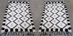 Sale 9146 - Lot 1028 - Pair of woollen rugs by Amalfi ( 210 x 123cm)