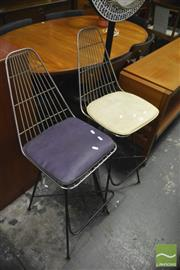 Sale 8350 - Lot 1073 - Pair of Meadmore Barstools
