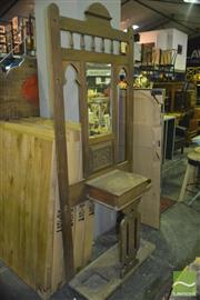 Sale 8390 - Lot 1409A - Edwardian Carved Hallstand