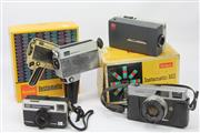 Sale 8626 - Lot 83 - Instamatic Camera And Movie Cameras (3) Together With A Canon
