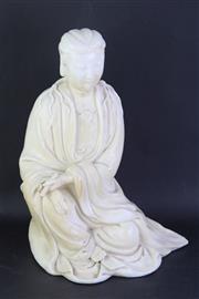 Sale 8802 - Lot 464 - Ceramic Figure of a Man (Height: 29cm)