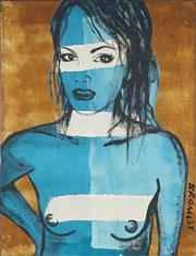 Sale 8870A - Lot 546 - David Bromley (1960 - ) - Belinda 122 x 91.5 cm
