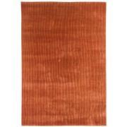 Sale 8870C - Lot 49 - India Rustic Stripes Carpet in Handspun Wool & Silk, 282x193cm