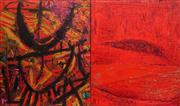 Sale 8901A - Lot 5028 - Mark Davis (1955 -) - Navigator V (diptych) 130 x 110 cm (each)
