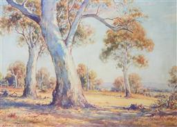 Sale 8972A - Lot 5035 - Arnold Jarvis (1881 - 1960) - The Mammoth Gum 44 x 61 cm