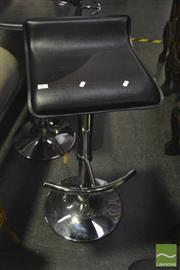 Sale 8341 - Lot 1017 - Set of Four Modern Barstools