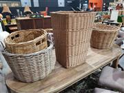 Sale 8889 - Lot 1042 - Collection of Baskets