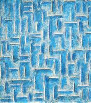 Sale 9067 - Lot 512 - Jon Plapp (1938-2006) - Untitled, 1985 (Abstract) 84.5 x 73 cm (frame: 88 x 77 x 4 cm)